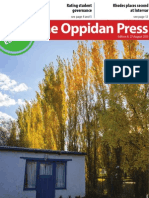 The Oppidan Press Edition 8 2013