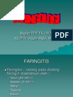 Faringitis - Dr.sofiarevisi