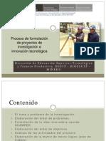 Proceso de Formulacion Piit Clase2