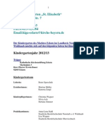 """Konzept """"Kindergarten und Kinderkrippe Eslarn"""" (von pfarrei-eslarn.de, am 04.09.13)"""