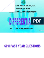 Differentiation MKS