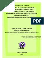 Dancosk, Maria Aparecida ferreira. O Pedagogo e a Formação do Professorem Seviço do Professor(Cine-Forum).pdf