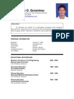 Example Application Letter for Fresh Graduate Civil Engineer