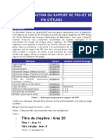 guide de rédaction du rapport PFE