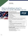 VA ACA Fact Sheet