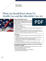 VA ACA Fact Sheet