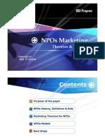NPOs Marketing
