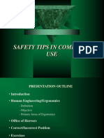 Safety in Computer Use