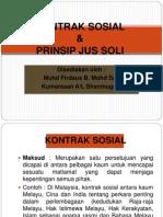 KONTRAK SOSIAL