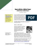 HowTo WhitePaper