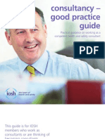 IOSH Consultancy - Good Practice Guide-2012