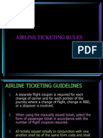 Rules Airfare Computation
