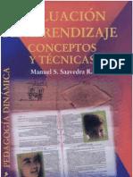 Evaluacion Del Aprendizaje Conceptos y Tecnicas