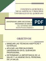 Tecnica Aseptica y Principios Universales[1]