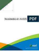 Novedades en ARCGIS 10.1