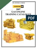 CustomerGas Engine Training Catalogue 2007