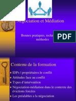 Negociation Et Mediation