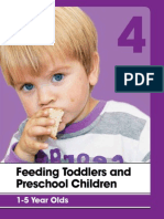 Feeding Toddlers and Pre-school Children 1 to 5 Years
