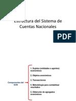 Estructura Del Sistema de Cuentas Nacionales