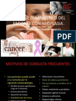 Enfoque Diagnostico Del Paciente Con Neoplasia
