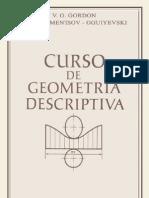 Gordon v - Curso de Geometria Descriptiva - Parte 1 - Editorial Mir