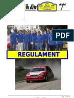 Regulament Rally-sprint Final