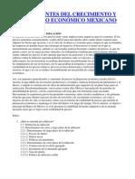 DETERMINANTES DEL CRECIMIENTO Y DESARROLLO ECONÓMICO