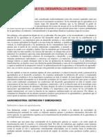 Agroindustria e Impacto Ambiental