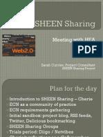 SHEEN Sharing Overview Slides