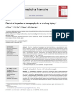 Electrical Impedance Tomography in Acute Lung Injury