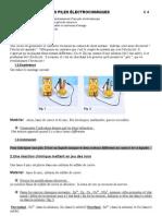 3 C 04 Les Piles Electrochimiques