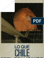 Eduardo Frei, lo que Chile está realizando