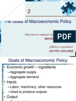 2.Goals of Macroeconomic Policy