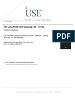 The Long Road from Guadalupe to Televisa