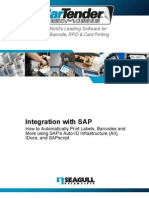 Sap Barcode and Label Printing Integration