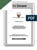04. Instructivo Para El Presupuesto Participativo Basado en Resultados (1)