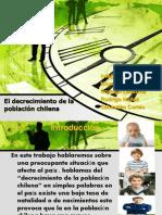 El decrecimiento de la población chilena (1)