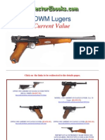 DWM Made Luger Pistols Current Value