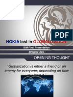 Nokia Lost in Globalization