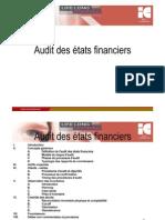 Audit Des Etats Financiers