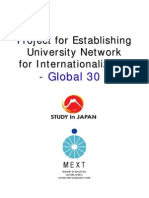 Global30 Initiatives in FY2011 En