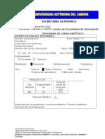 Programa Sintetico Simulacion
