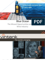 Blue Ocean Strategy in the Wine industry