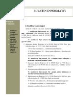 Buletin Informativ August 2013