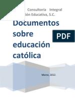 documentos sobre educación católica