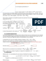 Site TS C 05 Reactions Acido-basiques en Solution Aqueuse