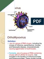 Orthomyxoviruses