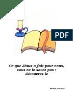 Ce Que Jesus Fait Pour Fascicule1