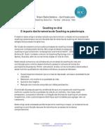Coaching no divã - o impacto das técnicas de coaching na psicoterapia -Nilson Redis Caldeira