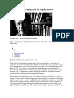 Papel Literario, Juan Liscano y la fundación de.docx